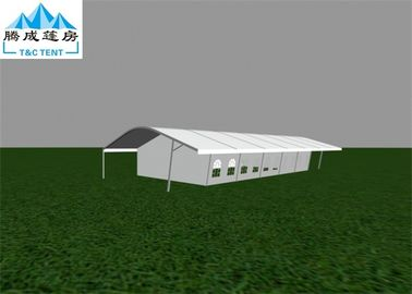 18x35M Aluminum Alloy Clear Event Tent Flame Resistant With White PVC